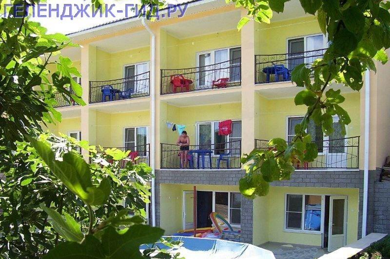 Архипо осиповка гостиницы на берегу моря