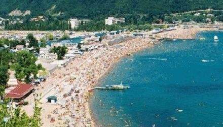Курортный поселок на Черном море: Архипо-Осиповка
