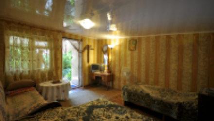 № 1071 Джанхот — гостевой дом «Агава», ул. Короленко 34