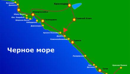 Побережье Черного моря России