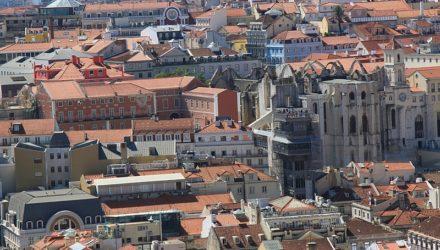 Лиссабон — вид из замка