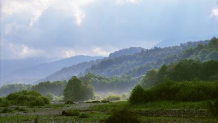 Поселок Пшада:дольмены,водопады и фруктовые сады