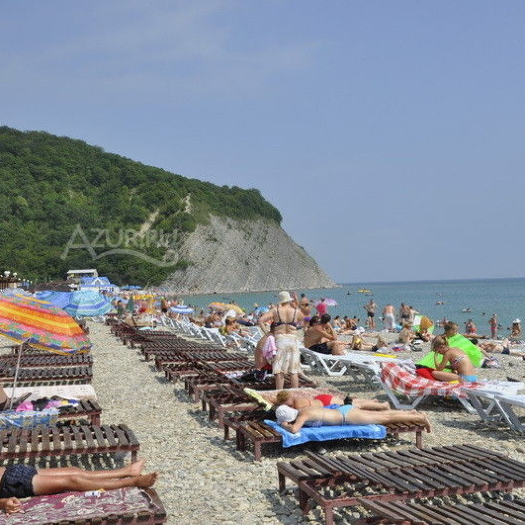 Архипо осиповка пляжа