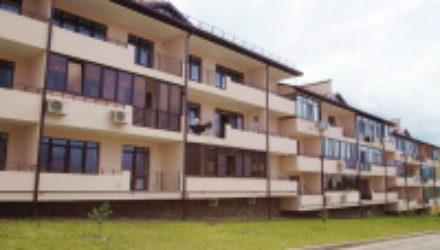№ 1056 Дивноморское — 1к. квартира по  ул. Курортная 3