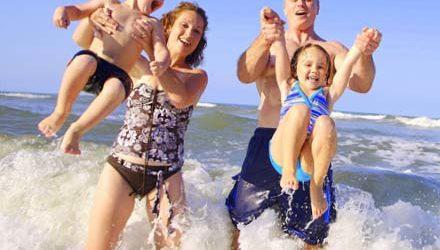 Где отдохнуть летом с детьми