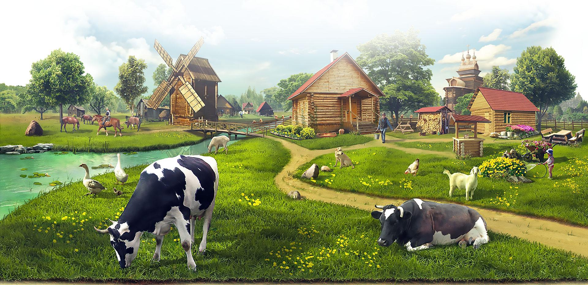 реклама фермы картинки поделитесь своей