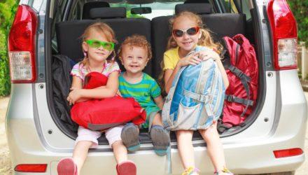 Путешествие на автомобиле с ребенком – легко!