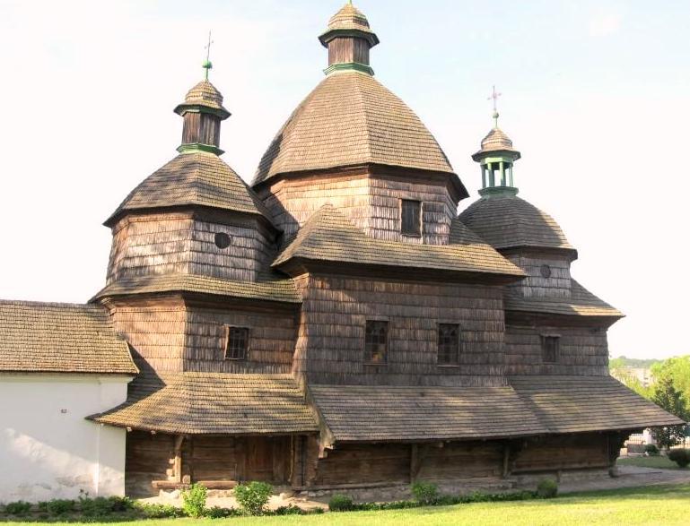 Деревянная церковь в Жолкве